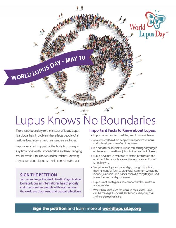 world lupus federation