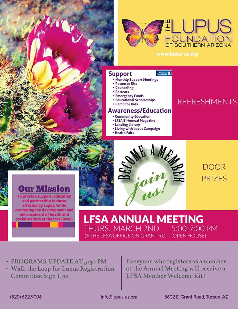 LFSA ANNUAL MEETING