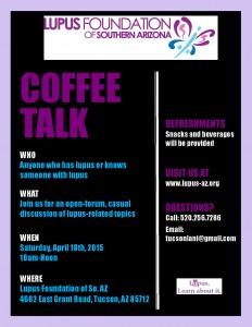 April 18th Coffee Talk
