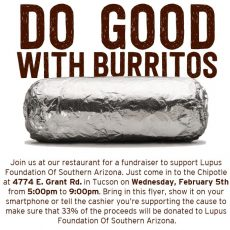 Chipotle Fundraiser to Benefit the LFSA